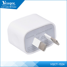 Veaqee universal mobile 5v 1.5a portable usb phone charger for iphone 6 6s plus