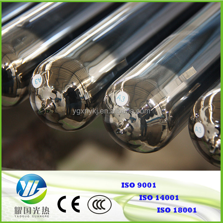 Heating solar collector type solar vacuum glass tube evacuated tubes for solar water heater