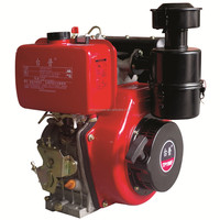 Direct Injection Air cooled 186FA 10HP Single Cylinder Diesel Engine
