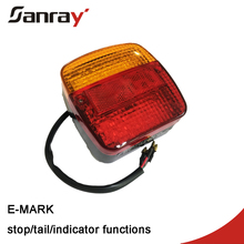12V 24V LED light Rear Turn Signal Truck Trailer Caravan Led Trailer Tail Lights Stop Rear Tail Indicator Light