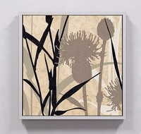 Gallery quality bamboo chinese painting, bamboo chinese canvas painting