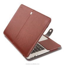 Mosiso Shockproof Dustproof Laptop Sleeve Case Cover 11 13 inch Soft PU Leather Sleeve Cover Case