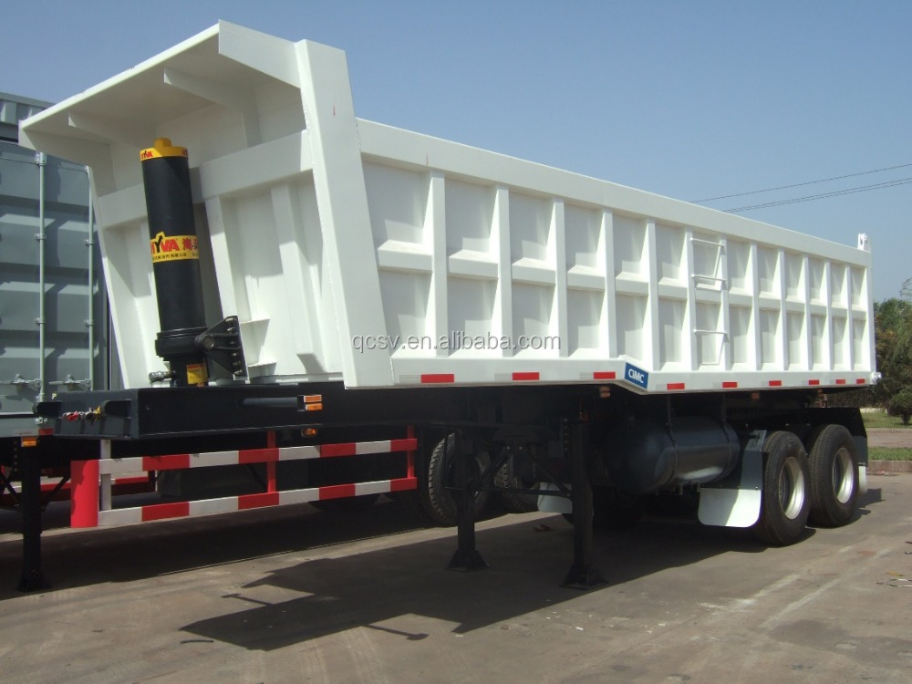 25CBM Tippin trailer with 2axles