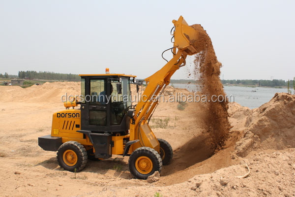 DZL935 Small CIvil Construction WOrks Electric Mini Wheel Loader