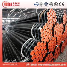 API 5L X42 X46 X52 X56 X60 X65 X70 Grade ERW Round Pipe Steel Pipe for Shipbuilding