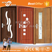 PVC Plastic Folding Doors / PVC Bathroom Plastic Door