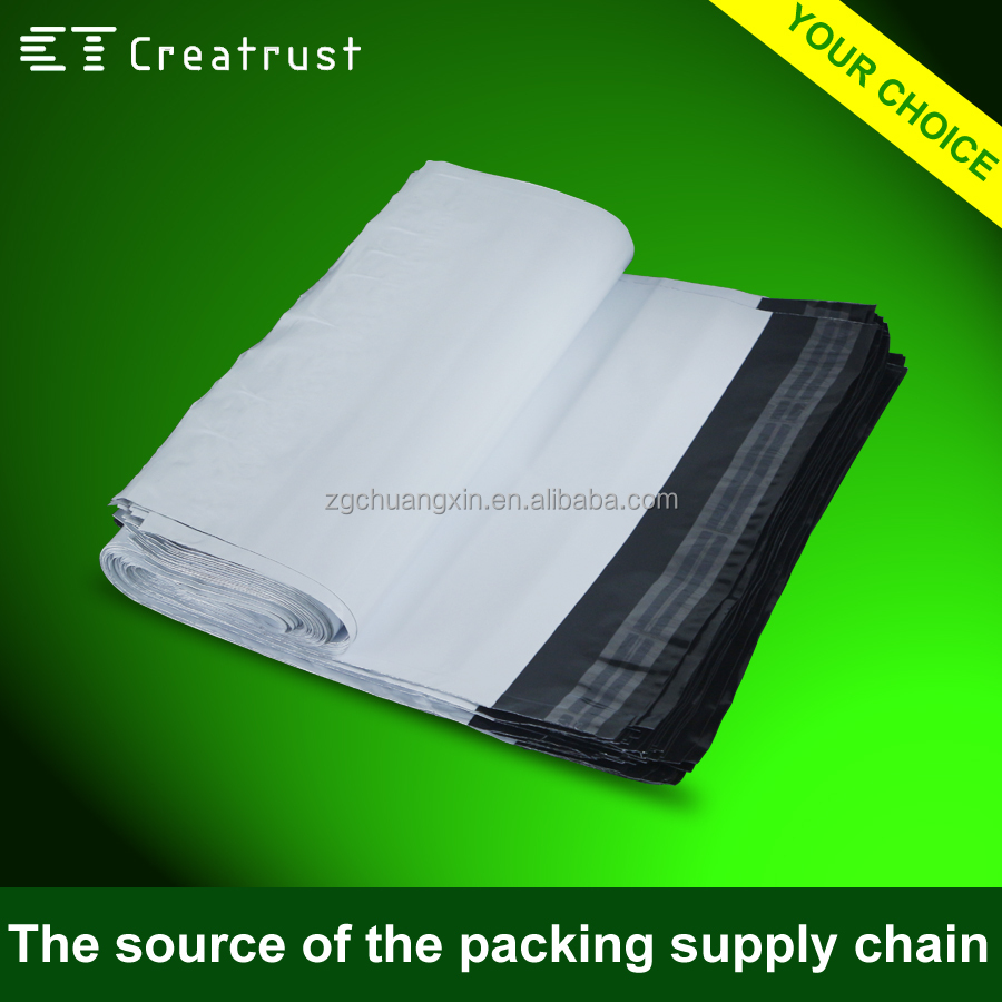 Recycled Opaque Waterproof Plastic Polythene Mailing Bags for Post Express