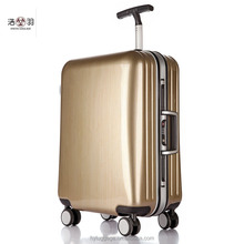 High Quality 20/24/28 Inch Fashion Trolley Case Aluminum Frame Travel Luggage ABS +PC Suitcase With Custom Lock