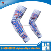 Digital full sublimation printed unisex cycling compression arm sleeve