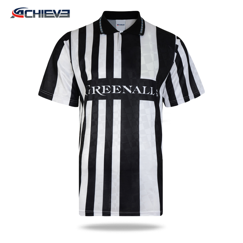 2018 new wholesale soccer referee shirt, imported soccer jerseys