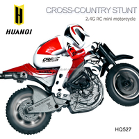 HuanQi 527 Electric Motorcycle RC Stunt Motorbike High-speed Cross-country Mini Motorcycle
