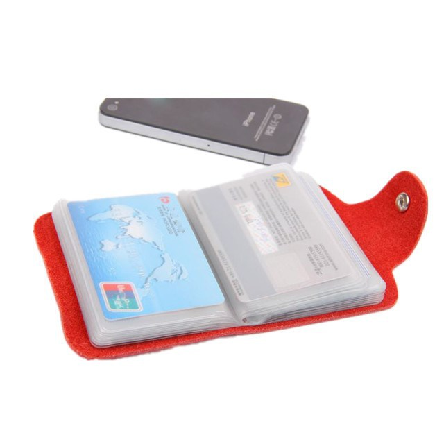 2015 new design leather visiting card holder pvc visiting card holder