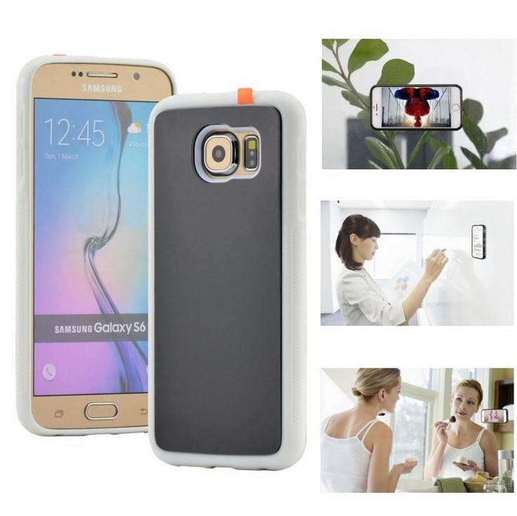 For Samsung Galaxy S7 Edge Case Note 5 Cover Antigravity Plastic Magical Anti Gravity Nano Suction