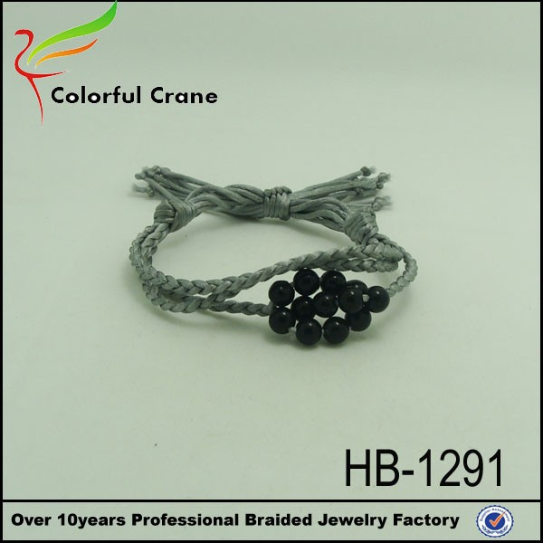 2017 diy korea fashion hand made bracelet made of beads wholesale