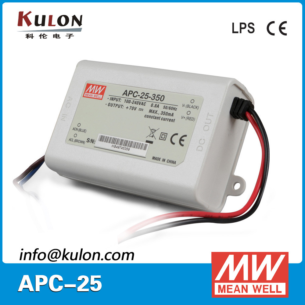 Wholesale price Meanwell AP-C-25-700 25W 700mA rc led driver for led mould