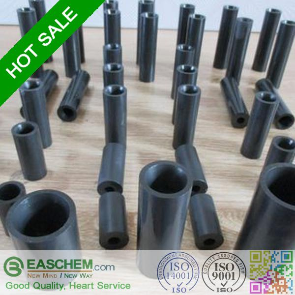 Cas No 409-21-2 Silicon Carbide Ceramic tube with formula SiC used in Chemical and aerospace