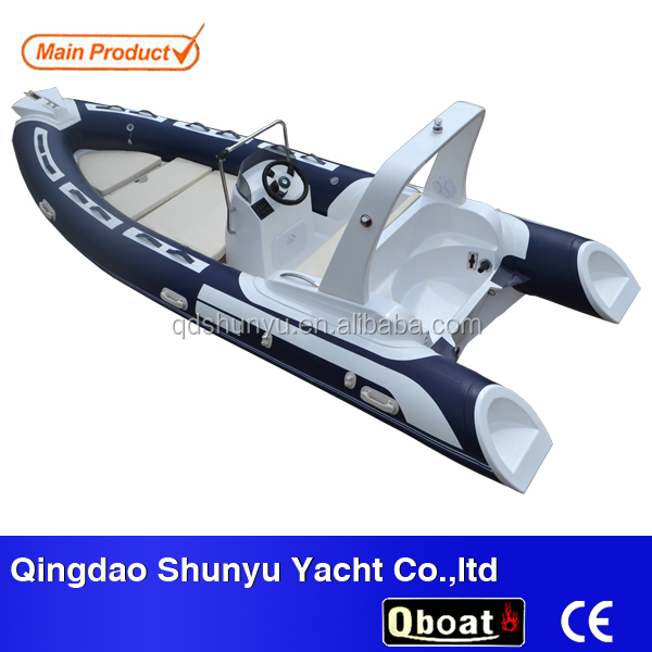 CE 80hp outboard engine pvc or hypalon luxury yacht