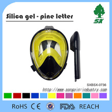 New 180Degree Full view Panoramic Snorkel Mask/Diving Mask Anti-fog&Anti-leak Technology