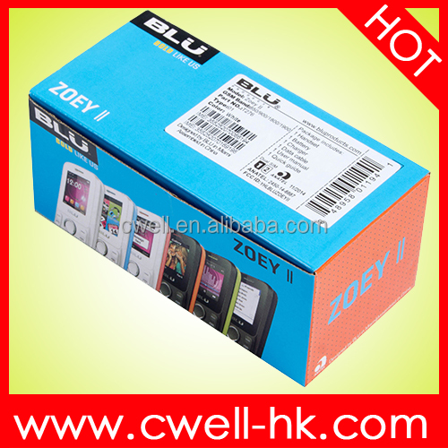 BLU ZOEY II T276 Four Band GSM 1.8 Inch Dual SIM Card blu mobile phone Famous Brand Good Quality