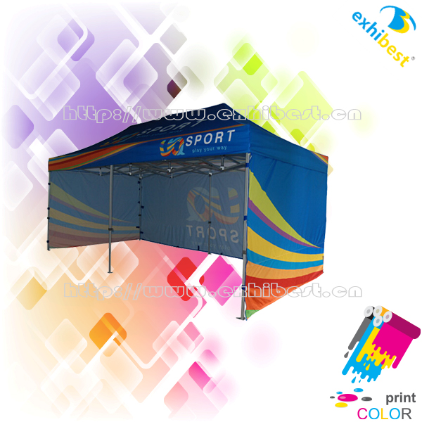 High digital printing quality wedding party tent design with imported ink