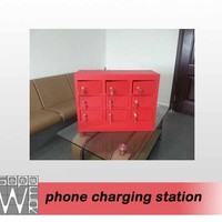 mobile phone charging station 9 docks 2014 new design mid tablet pc 9v charger