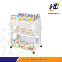 baby plastic changing table