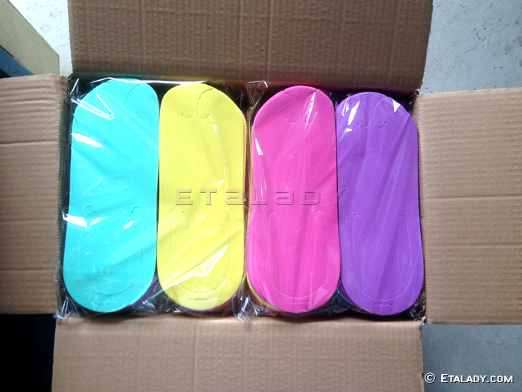 Custom Disposable Pedicure Slippers For Nail Beauty Salon
