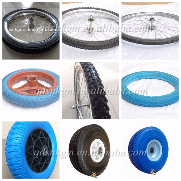 Solid Wheel For Electric Skateboard Wheel Chair