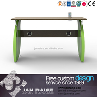 2015 new design one seat wooden modern executive desk office table design / computer desk