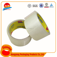 Hangzhou Low Price Of Opp Packing Adhesive Tape China Manufacturer Strong Solvent Based Bopp Jumbo Roll Tape