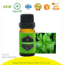 Chinese bulk natural edible peppermint essential oil at wholesale price