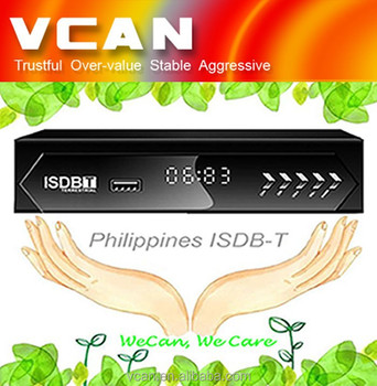 VCAN1047 Home ISDB-T Digital TV Receiver digital tv set top box for Philippines