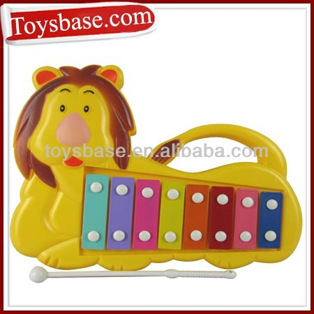 Cartoon lion plastic xylophone toy