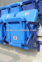 outdoor stadium stand chair,fixed grandstand chair,plastic grandstand chair