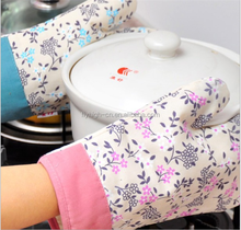 promotional fancy waterproof heat resistant oven gloves