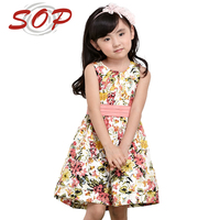 High Quality New Model Children Custom Clothing Child Girl Dress