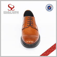 Customized pure manual ostrich skin italian man shoes