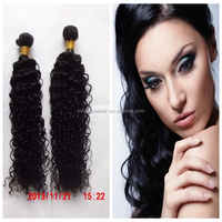 water wave 100%human virgin hair weave black color for black woman