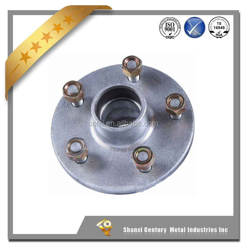 Professional factory custom trailer parts Australian Standard ductile iron trailer <strong>wheel</strong> hub without braking