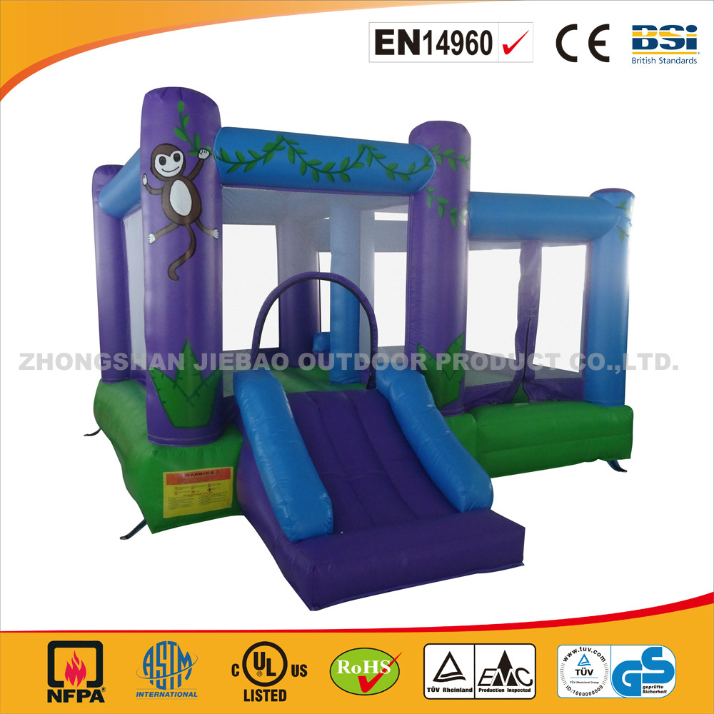 Cheap InflatableJumping Bouncer With Slide/ High Quality Bouncy Castle with Slide/Inflatable Bouncer With Slide For Hot Sale