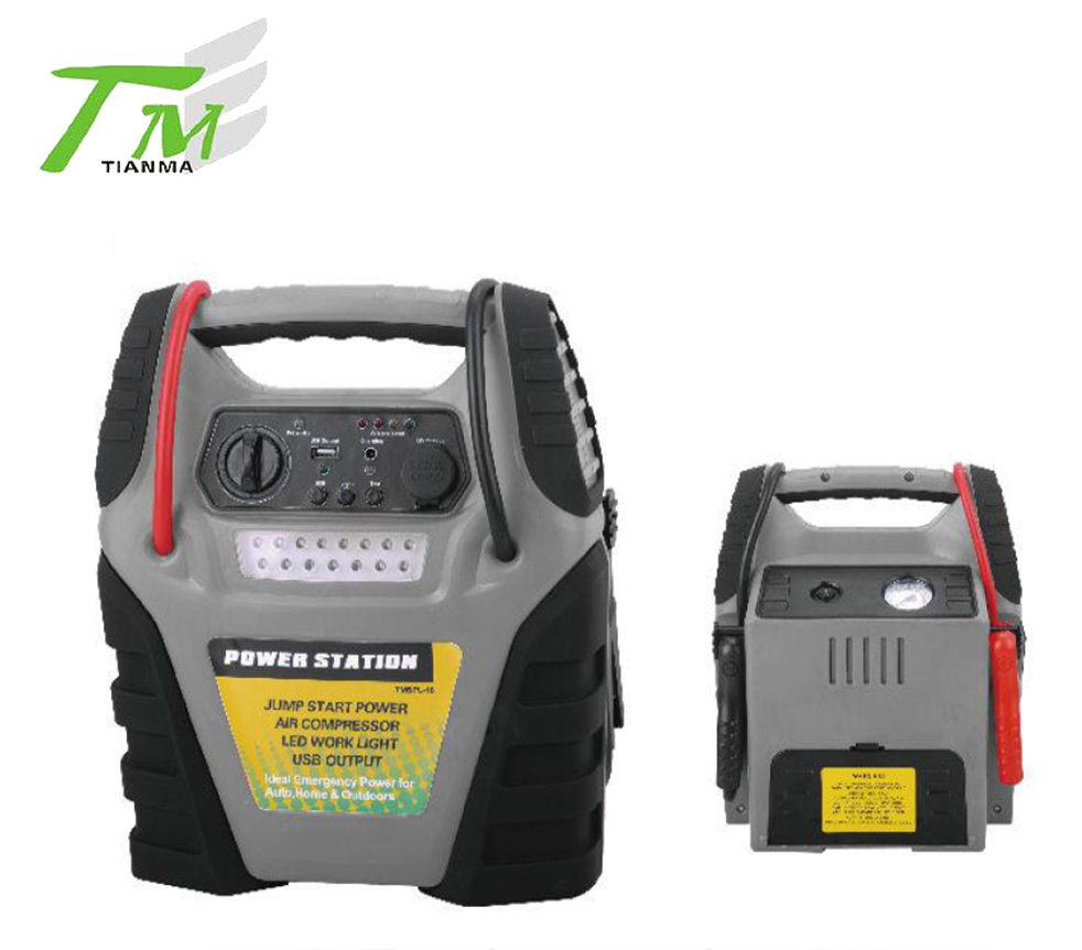 TMSPL-16 4 in 1 power station with air compressor