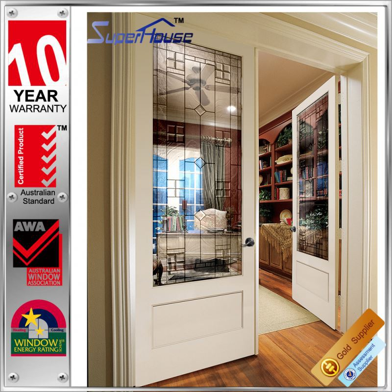 Australian standard anti noise french office swing half doors