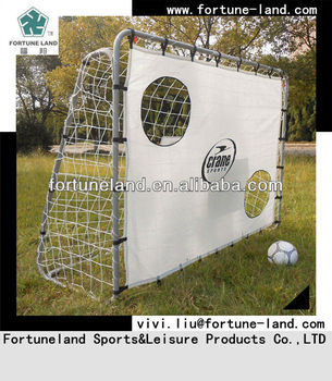 213CM inflatable metal steel soccer target goals