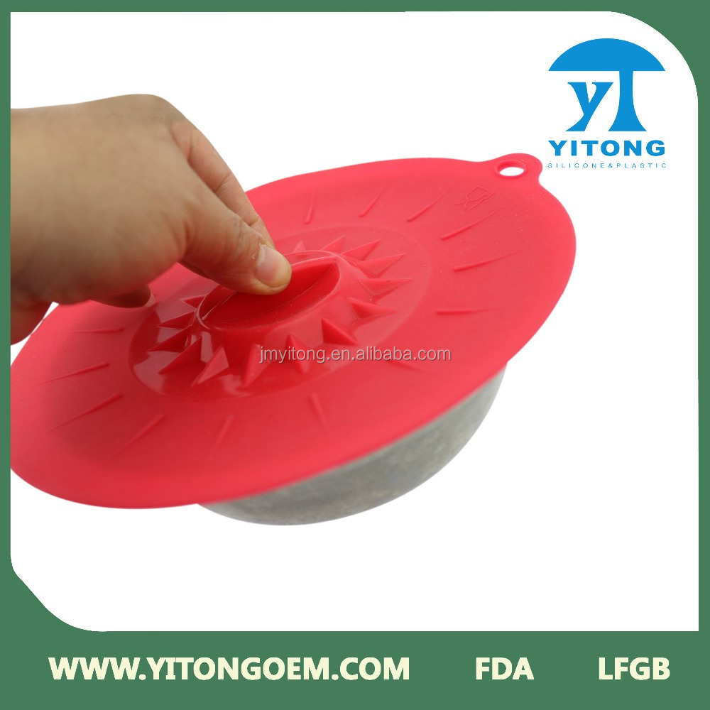 Colorful Silicone Pot Lid/ silicone cooking pot lids