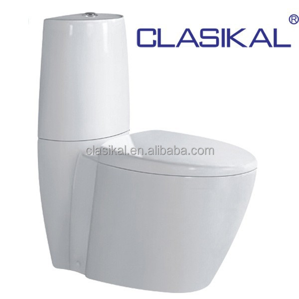 CLASIKAL Environmental protection fashion design sanitary ware, washdown two piece wc toilet