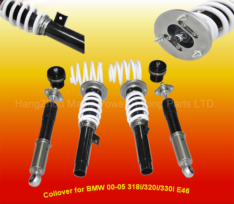 Coilover for b m w e46 318i 320i 323i 325i 328i 330i 99-05 mono-rs coilover suspension(Fits: B M W)