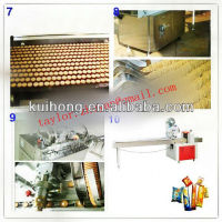 2013 KH-1000 new full automatic biscuit production line /biscuit machine