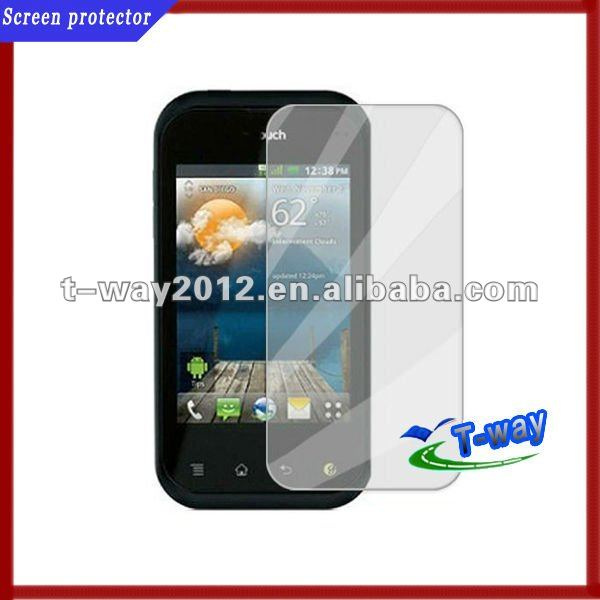 mobile phone screen protective film for LG QC800
