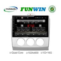 Funwin Android 4.4.2 car dvd player HD radio cassette for Ford Focus 2 2015 bluetooth