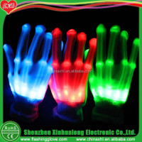 amazing LED flash gloves for parties